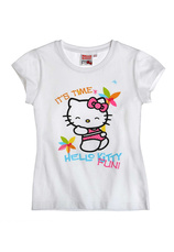 Hello Kitty Tricou Alb