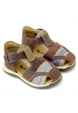 Sandale piele Bambulini Maro mix