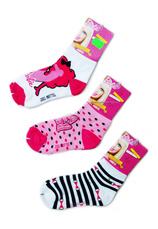 Barbie® Set 3 sosete (23-34) Multicolor