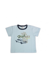 Tricou bebe 68-98 Ice blue
