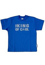 Tricou baieti 98-164 Albastru royal