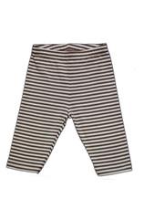 Pantalon 92-140 Maro-alb