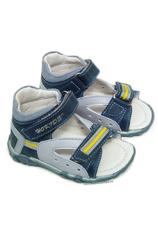 Hokide® Sandale piele Bleu
