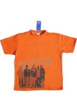 Tricou baieti Oranj