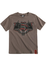 Batman v Superman Tricou Gri (8-14 ani)
