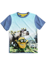 Minions® Tricou Albastru 6-12 ani