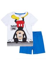 Mickey® Pijama vara Alb