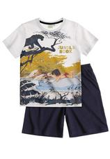 The Jungle Book® Pijama vara Alb