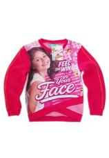 Soy Luna® Bluza flausata Ciclam (4-12 ani)