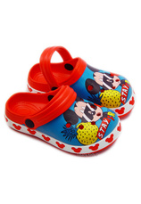 Mickey® Saboti tip Crocs Multicolor