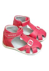 Hokide® Sandale piele Fuxia