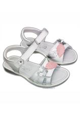 Hokide® Sandale piele Alb