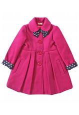 Exclusive® Palton vatuit Bella Ciclam 70494