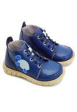 Ghete piele Flipper B. Bleumarin-Albastru