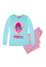 Trolls® Pijama (4-12 ani) Turcoaz