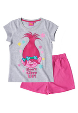 Trolls® Pijama Maneca scurta (6-12 ani) Gri mix