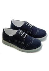 Hokide® Pantofi piele velur Bleumarin