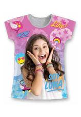 Soy Luna® Tricou Gri Print