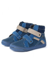 D.D.Step® Ghete piele imblanite Albastru 304025
