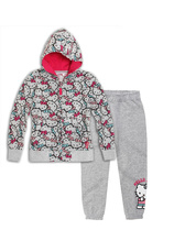 Hello Kitty® Trening flausat Gri