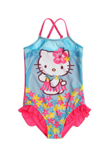Hello Kitty® Costum de baie intreg Turcoaz 127882
