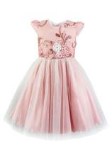 Al-Da® Rochie eleganta Luiza roz