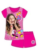 Soy Luna® Pijama vara Ciclam