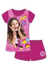Soy Luna® Pijama vara Fuxia
