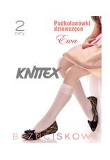 Knittex® Set 2 Sosete 3/4 Alb