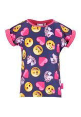 Emoji® Tricou fuxia mix 1739911