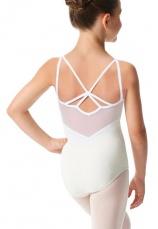 Body gimnastica & dans Alb Spandex 1107