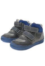 D.D.Step® Ghete piele Albastru mix 304026
