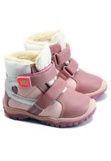 Wojtylko® Ghete piele eco imblanite roz 200482