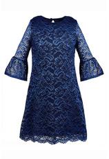 Al-Da® Rochie eleganta Harriet Navy 101864