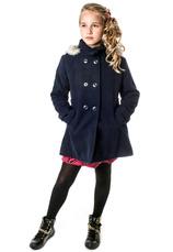 Exclusive® Palton vatuit Angela bleumarin 70493