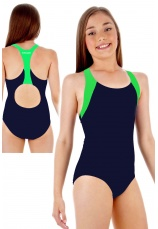 Tiffany Kids® Costum de baie intreg Navy-Lime 16401