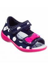 3F® Sandale Maya  Bleumarin-ciclam