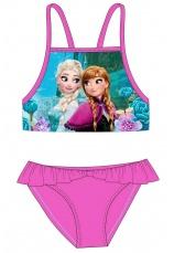 Frozen® Costum baie 2 piese ciclam 143136