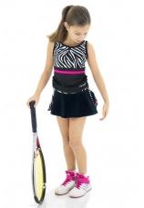 Tiffany K® Set Tenis Fusta cu maieu Zebra II 55900