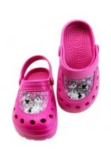 Minnie® Saboti tip Crocs ciclam 597222