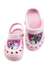 Minnie® Saboti tip Crocs roz 597221