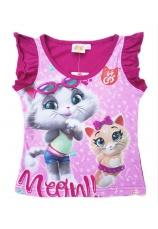 44 Cats® Tricou fuxia 187942
