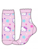 Hello Kitty® Sosete normale roz 580231
