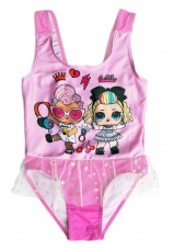 L.O.L. Surprise® Costum  baie intreg roz 229151