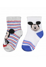 Mickey® Sosete bebe Set 2 multicolore 141773
