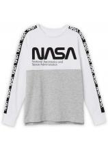 Nasa® Bluza alb-gri 807027