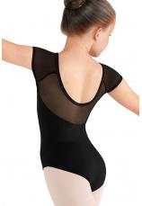 Body gimnastica & dans Negru Spandex 1106