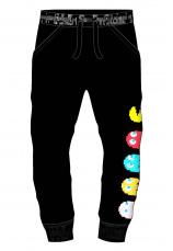 Pac-Man® Pantaloni Trening flausati Negri 550081