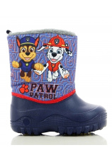 Paw Patrol® Cizme eco imblanite albastre 105808