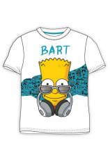 The Simpsons® Tricou Bart Alb 366331